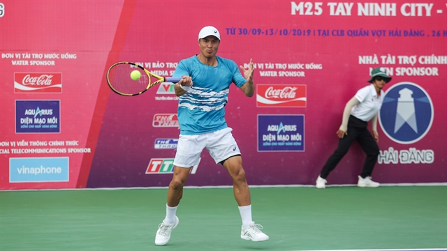 Nguyễn to take Việt Nams first ever SEA Games tennis title